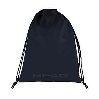 CABEÇA espírito ginásio saco saco mochila lazer bolsa de ombro 7448/azul marinho
