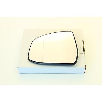 Linke BeifahrerSeite Spiegel Glas (beheizt) & Halter Für Ford MONDEO mk4 2007-2014