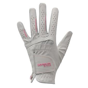 Wilson Womens Feel Plus Golf Glove Ladies