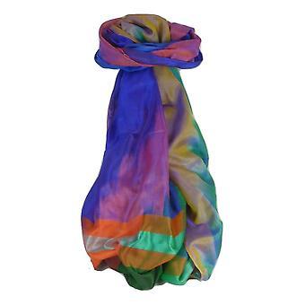 Varanasi Premium Silk Long Scarf 6119 GIFT BOX WRAPPED por Pashmina & Silk