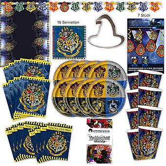 Harry Potter original party set XL 67-teilig 8 guest magician magician birthday party package