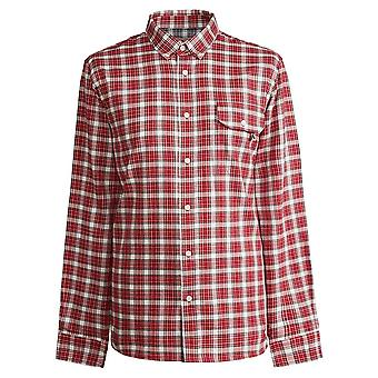 PRETTY GREEN Red Classic Fit Check Shirt