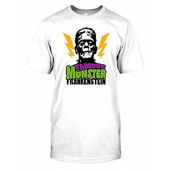Monstre célèbre Frankenstein - Horreur Classique Hommes T-shirt