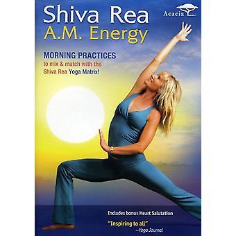 Shiva Rea - A.M. energie [DVD] USA importeren