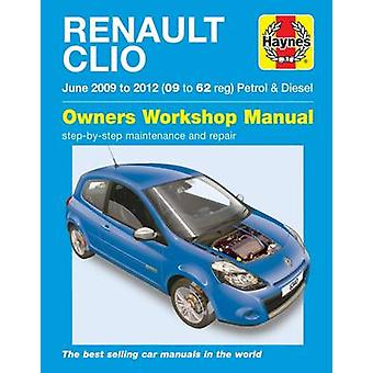 Renault Clio Petrol & Diesel Owners Workshop Manual by M. Storey - 97