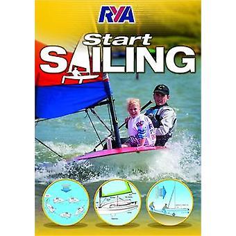 RYA Start Sailing (3rd Revised edition) by RYA - 9781910017081 Book
