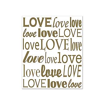 """Love"" Insta-Mural Photo Op 5' x 6'"