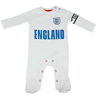 Inglaterra FA Sleepsuit 9/12 mths