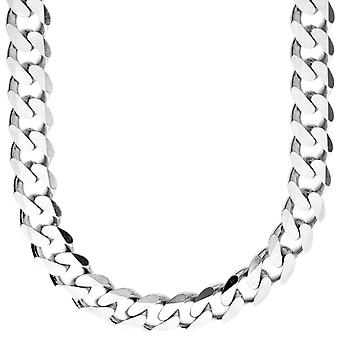 Sterling 925 Silver Tank Chain-hillitä 11mm