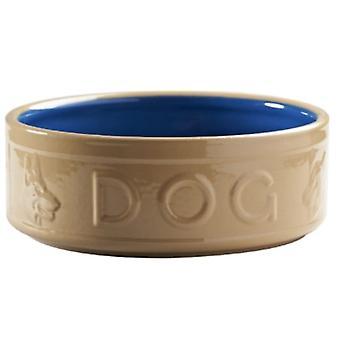 Mason Cash canna & Blue Dog Bowl - 13cm