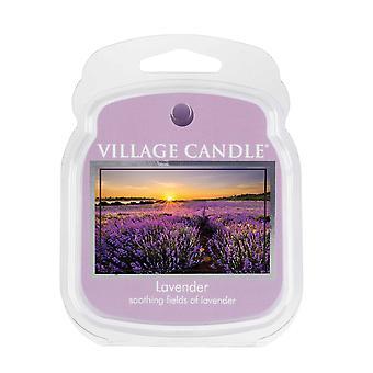 Dorf Kerze Wachs Schmelzpackungen für den Einsatz mit Schmelztorte & Ölbrenner 6 Stücke Lavendel