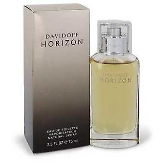 Davidoff Horizon av Davidoff Eau de Toilette spray 2,5 oz (menn) V728-543406