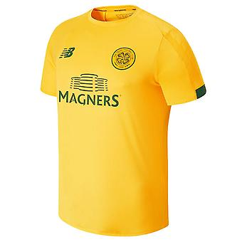 2019-2020 Celtic On Pitch Training Jersey (Yellow)