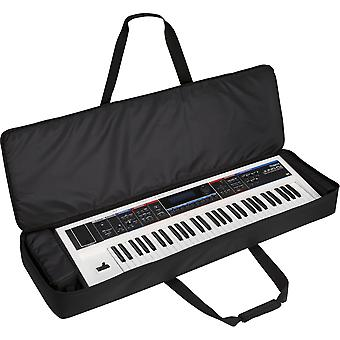 Kabalo Black Protective 61-Key Electric Keyboard Padded Carry Bag