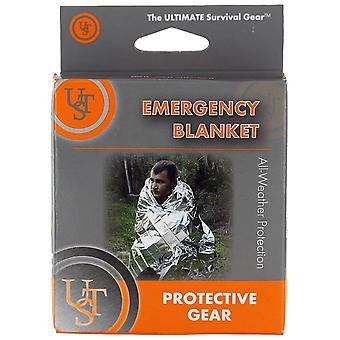 Ultimate Survival Technologies Silver Emergency Blanket