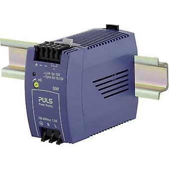 PULS MiniLine ML50.102 Rail mounted PSU (DIN) 12 V DC 4.2 A 50 W 1 x