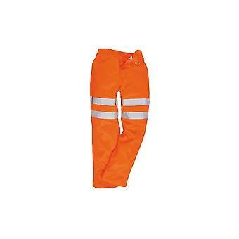 Portwest hi-vis poly-cotton trousers ris rt45