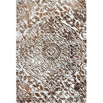 Pierre Cardin Design matto akryyli kerma/ruskea