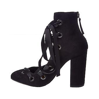 Daya by Zendaya Womens Najah Almond Toe Ankle Fashion Boots