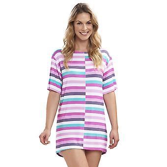 Rosch 1195553-11874 Women's Beach Ringlet Multicolour Striped Beach Dress