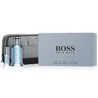Hugo Boss Boss Imbottigliato Tonic Set 100ml EDT - 8ml EDT - Borsa da viaggio