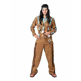 Indian Buffalo Hunter Costume Hommes Sioux Apache Costume Homme