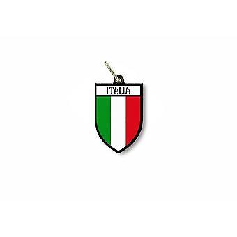Tür Schlüssel Schlüssel Flagge Sammlung Stadt Italienisch italienisches Wappen