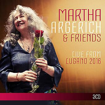 Argerich*Martha & Friends - Live From Lugano Festival 2016 [CD] USA import
