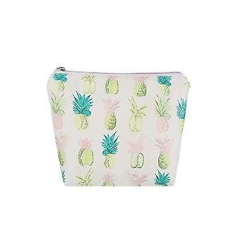 Jewelcity kvinner/Ladies Pineapple Love stor makeup bag