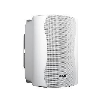 Slimme akoestiek Bgs35t 100V witte luidsprekers (paar)