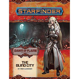 Starfinder Adventure Path The Blind City Dawn of Flame 4 of 6
