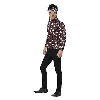 Mens Zoolander Derek Fancy Dress Costume