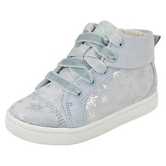 Meninas Clarks Disney Frozen Ankle Boots City Frost