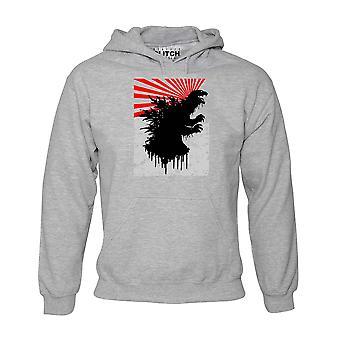 Japanse monster Art hoodie