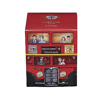Red london bus london tea 10 teabag carton