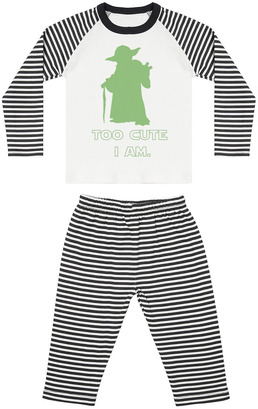Too Cute I Am - Baby Pyjamas