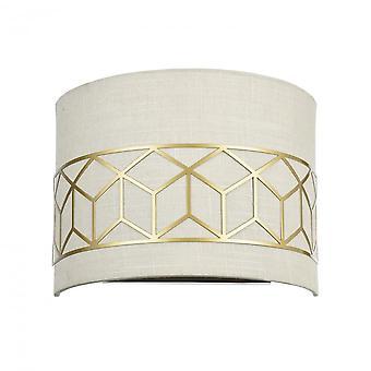 Maytoni Lighting Messina House Sconce, Gold
