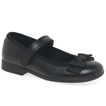 クラークスカラタップ女の子幼児学校の靴