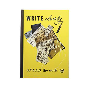 Write Clearly A5 Notebook - The Postal Archive Collection