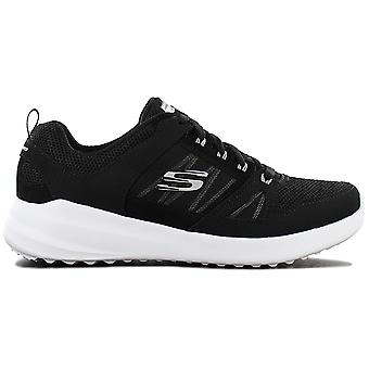 Skechers Skybound 12995-BKW Damen Schuhe Schwarz Sneaker Sportschuhe