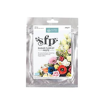 Squires Kitchen Squires Sugar Florist Paste (SFP) - Opaque White - 200g