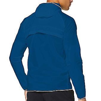 Under Armour Mens Qualifier Storm Packable Full Zip Windbreaker Jacket - Blue