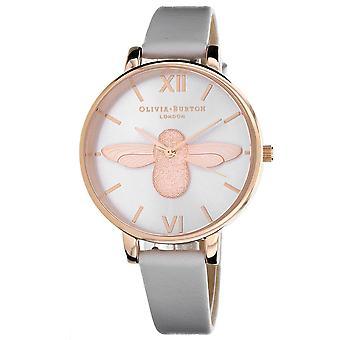 Olivia Burton Women's Silver Dial Watch - OB16AM158