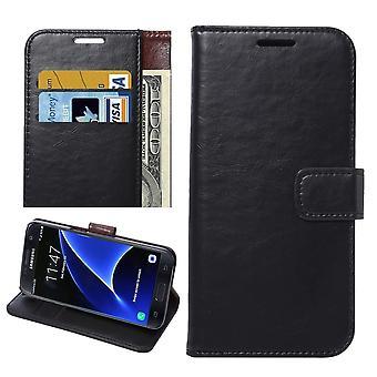 Tegnebog med magnetisk lås til Samsung Galaxy S7 Edge