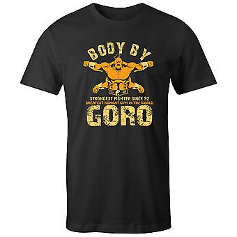 Boys Crew Neck Tee Short Sleeve Men's T Shirt- Body By Goro