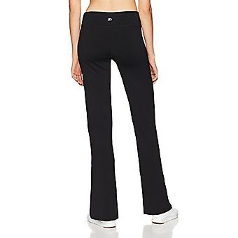 Starter Women's Yoga Pants, Exclusif, Noir, Moyen, Noir, Taille Moyenne