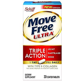 Schiff move free ultra triple action, coated tablets, 30 ea