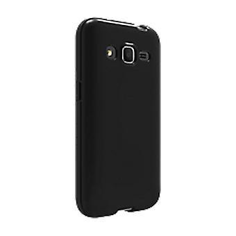 Verizon High Gloss silikoni kotelo Samsung Galaxy Core Prime-musta