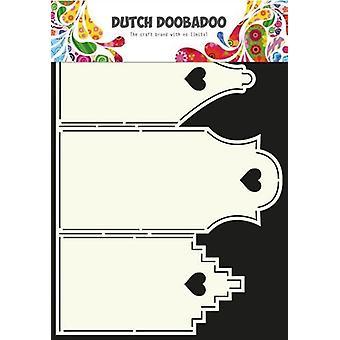 Néerlandais Doobadoo Dutch Card Art Stencil Houses A4 470.713.311