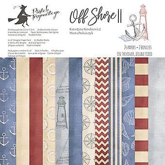 Piatek13 - Paper pad Off Shore II 6 P13-300 6x6